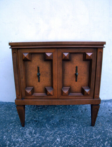 Mid Century Modern Nightstand End Side Table 5979