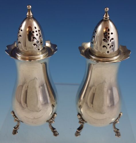 Grand Colonial by Wallace Sterling Silver Salt and Pepper Shaker Pair (#2544)