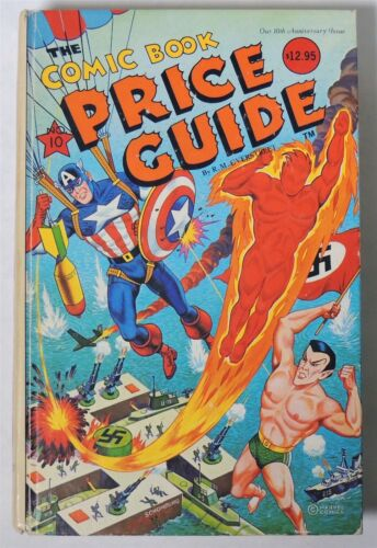 ESA1188. OVERSTREET The Comic Book Price Guide 10th Edition Hardcover 1980 /