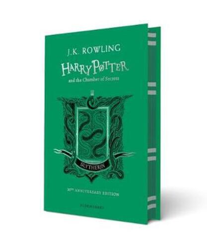 Harry Potter and the Chamber of Secrets - Slytherin Edition by J.K. Rowling Hard