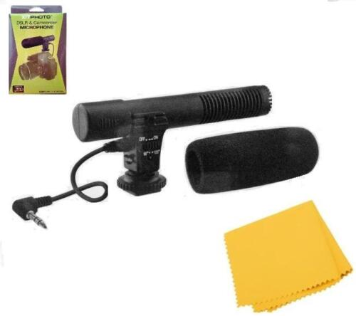 Condenser Microphone For Sony Alpha a6300 a6500, DSC-RX1, RX1R, RX10 A68 A99 A77