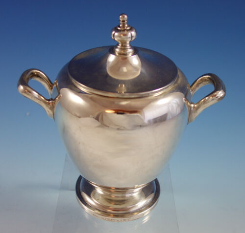 Pointed Antique by Reed Barton Dominick Haff Sterling Silver Sugar Bowl (#2619)