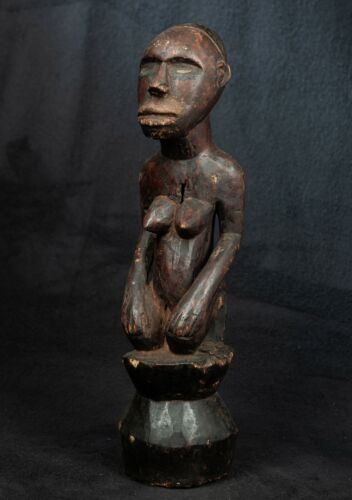 Bakongo Female Ancestor Sculpture, D.R. Congo, African Tribal Art