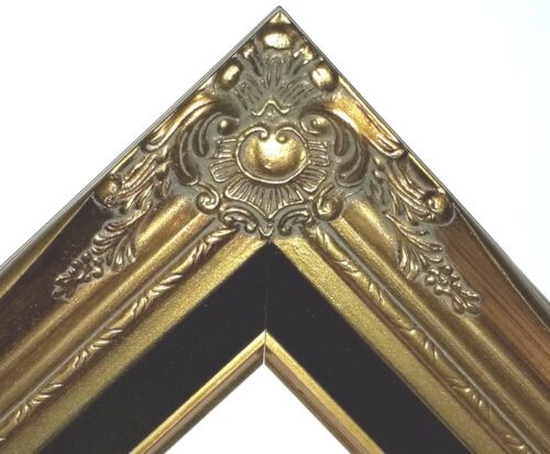 "3"" Gold Wood Antique Classic Picture Frame art gallery 637Gb 20x24"