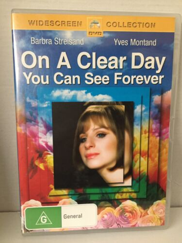 ON A CLEAR DAY YOU CAN SEE FOREVER ~ BARBRA STREISAND ~ AS NEW PAL REGION 4 DVD