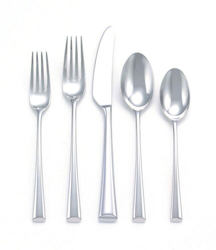 Bistro Cafe by Dansk Stainless Steel Flatware Set Service for 8 New 40 pieces