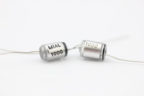 //-2.5/% Tolerance NOS .00463uf 5 Mial 4630pf 160V Polystyrene Capacitors