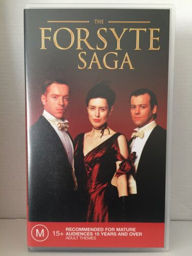 THE FORSYTE SAGA~COMPLETE SERIES 1 ONE~DAMIEN LEWIS~BRAND NEW & SEALED VHS VIDEO