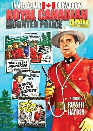 Royal Canadian Mounted Police: 4 Movie Collection (REGION 1 DVD New)
