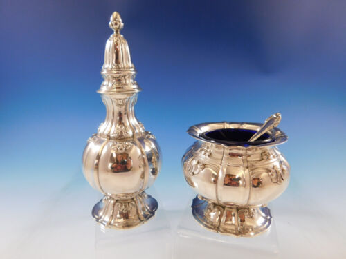 Grande Imperiale by Buccellati Sterling Silver 3-pc Salt & Pepper Set SKU #3137