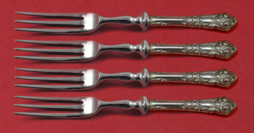 French Renaissance by Reed and Barton Sterling Silver Fruit Fork Set 4-Pc Custom