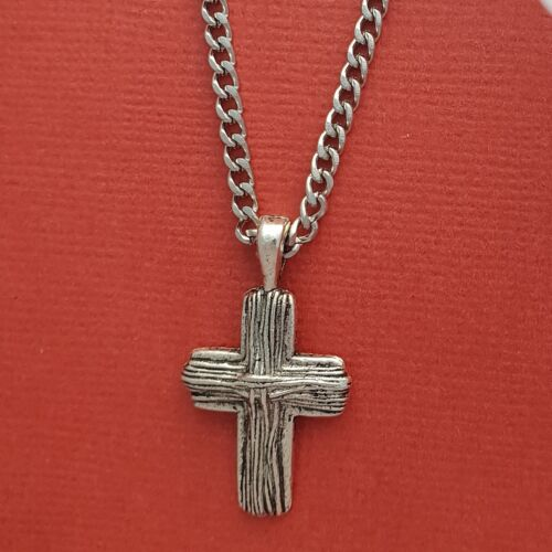 Cross Necklace Pendant and stainless steel 52cm Chain