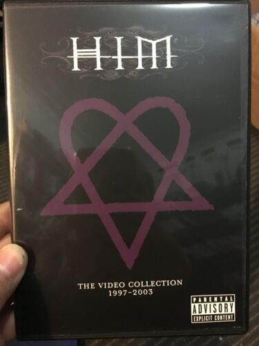 HIM (rock music band) The Video Collection 1997-2003 region 1 DVD