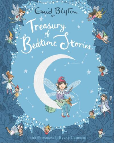 Treasury of Bedtime Stories by Enid Blyton Hardcover Book Free Shipping!
