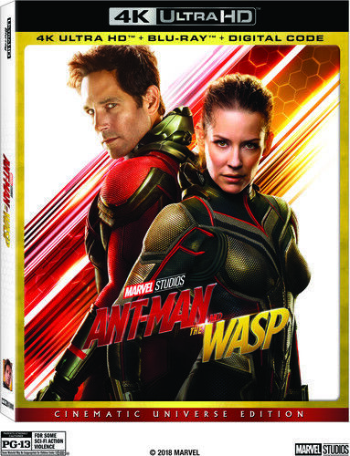 Ant-Man and the Wasp [New 4K UHD Blu-ray] With Blu-Ray, 4K Mastering,
