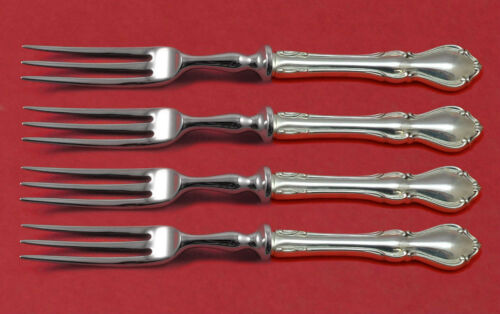 Hampton Court by Reed and Barton Sterling Silver Fruit Fork Set 4pc HHWS Custom