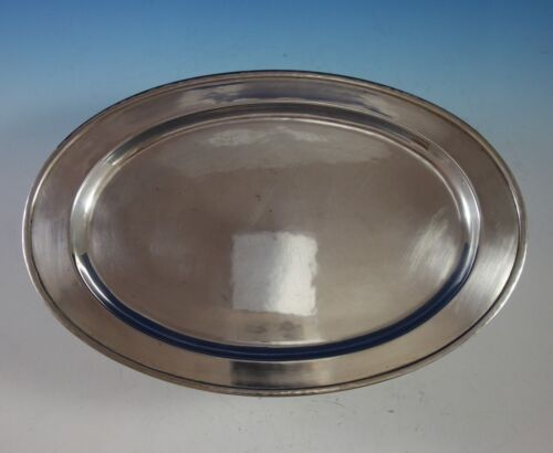 Porter Blanchard Sterling Silver Fish Serving Tray Oval #302 (#2900)