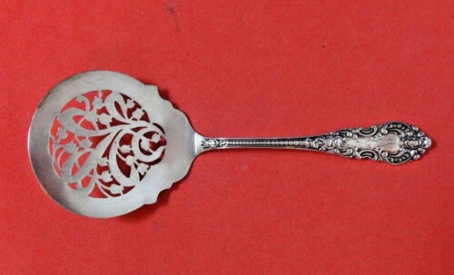 """Apollo by Knowles & Mount Vernon Sterling Tomato Server Pcd with Flowers 7 3/4"""""""