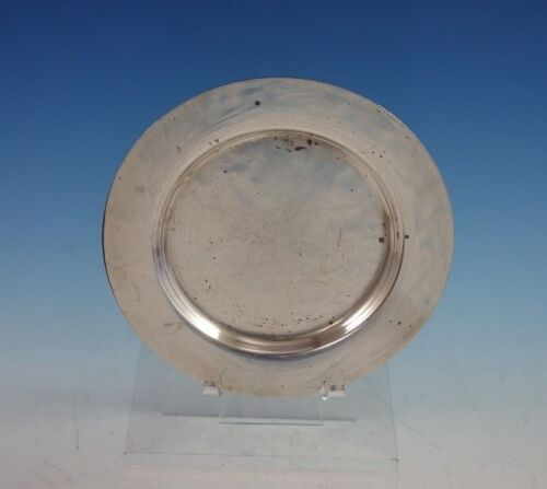 "Round by Porter Blanchard Sterling Silver Bread and Butter Plate 6"" (#2933)"