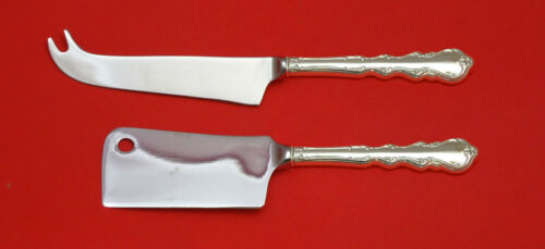 Angelique by International Sterling Silver Cheese Serving Set 2pc HHWS  Custom