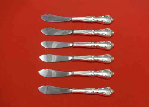 "American Classic by Easterling Sterling Silver Trout Knife Set 6pc 71/2"" Custom"