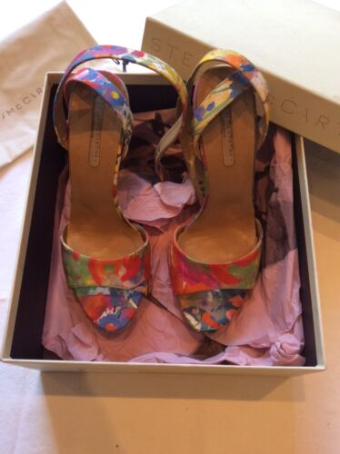 Stella McCartney Floral Print Platform Sandals size 39 Brand New With Tags