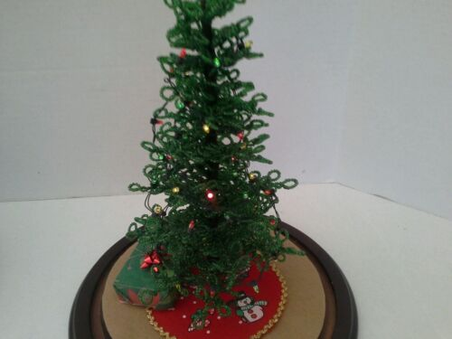 For Westrim Beaded Mini Christmas Tree *50* count MULTI light set with batteries