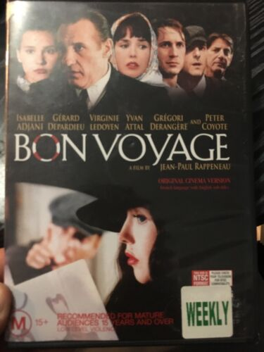 Bon Voyage ex-rental region 4 DVD (2003 Gerard Depardieu French movie) rare