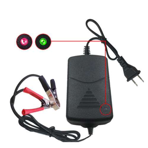 Battery Charger Maintainer 12V 1.3A Volt Trickle RV Car Truck Motorcycle Mower..