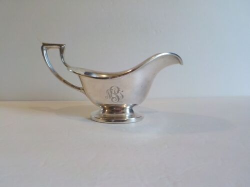 Vintage Reed & Barton Sterling Silver Sauce / Gravy Boat