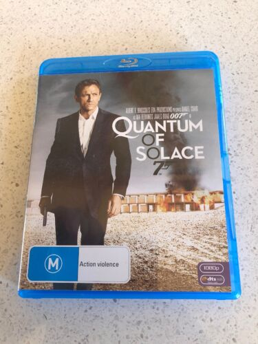 Quantum Of Solace (M) Blu-Ray Disc In Excellent Condition Free Postage