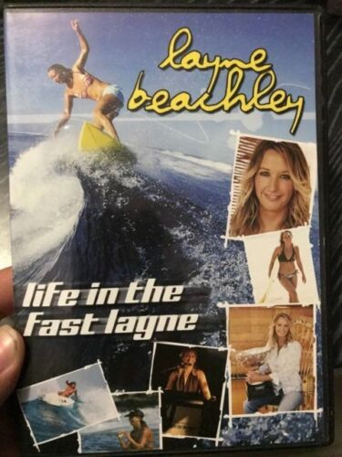 Layne Beachley - Life In The Fast Lane region 4 DVD (surfing documentary)
