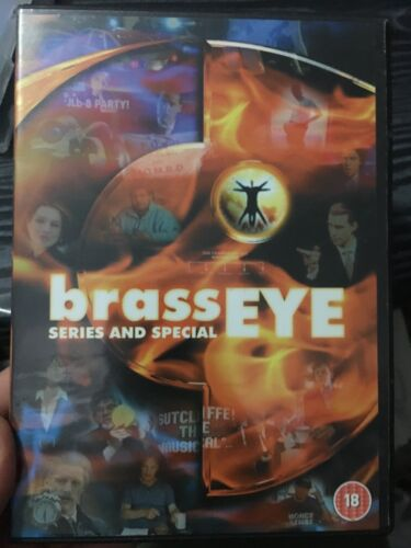 Brass Eye - The Series and Special region 2 DVD (British comedy show)