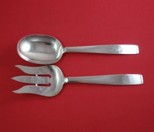 """Olso by Porter Blanchard Sterling Silver Vegetable Serving Set 2 Piece 10"""""""
