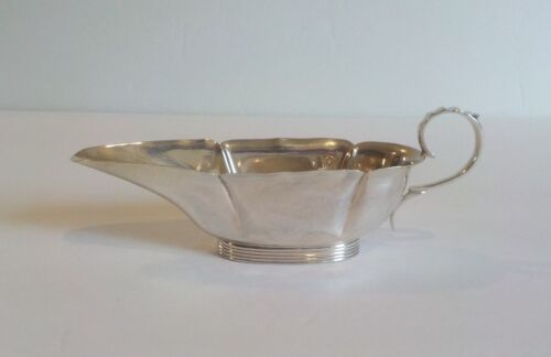 English Sterling Silver Pap Boat, Birmingham, c. 1902