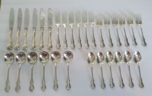 Towle FRENCH PROVINCIAL Sterling Silver Luncheon Set, Service for 6, 30-Piece