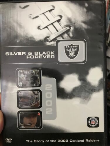 Silver And Black Forever - The 2002 Oakland Raiders region 1 DVD (NFL football)