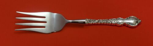 """Debussy by Towle Sterling Silver Buffet Fork HH WS Custom Made 8 1/2"""" Serving"""