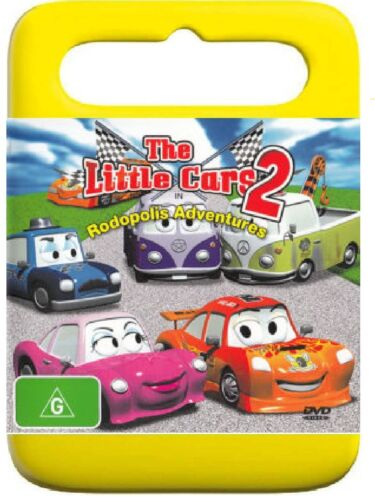D6 BRAND NEW SEALED The Little Cars 2 - Rodopolis Adventures (DVD, 2007)
