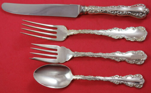 Louis XV by Birks Sterling Silver Regular Size Place Setting(s) 4pc