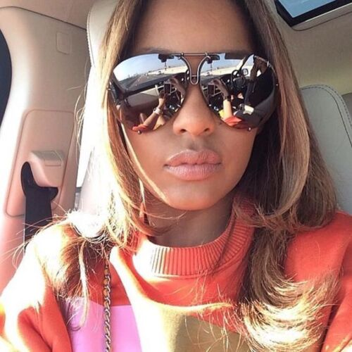 """Porsche"" OVERSIZED Women Sunglasses Aviator Flat Top PILOT GAFAS"