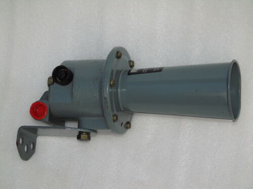 NOS RS COMPONENTS 625-801 MOTOR DRIVEN HOOTER SIREN 230V AC INDUSTRIAL HORN