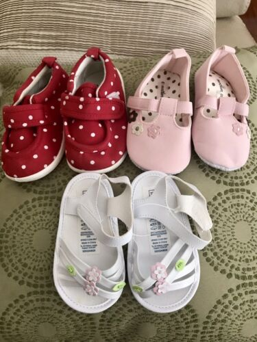 NEW Toddler Baby girls shoes sandals - Mother Care various brands 14cm