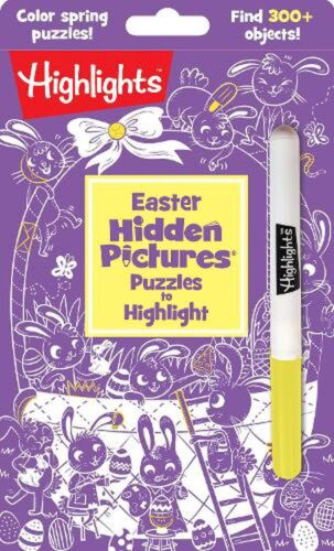 Easter Hidden Pictures Puzzles to Highlight by HIGHLIGHTS (English) Paperback Bo