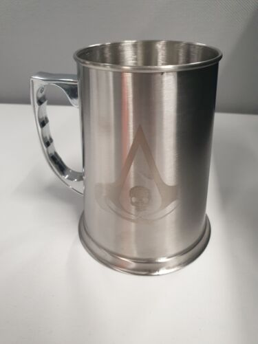 Assassin's Creed Black Flag Official Stainless Steel Tankard