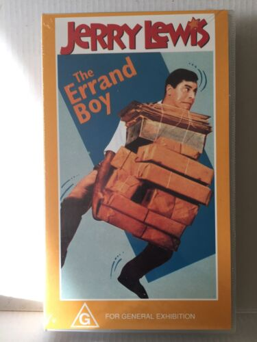 JERRY LEWIS ~ THE ERRAND BOY ~ BRAND NEW & SEALED PAL VHS VIDEO