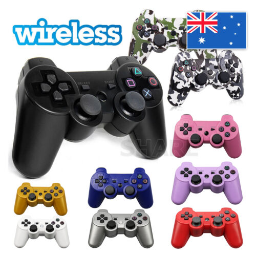 Dual Shock Wireless Bluetooth Controller Remote Gamepad Joystick For PS3 Gamepad