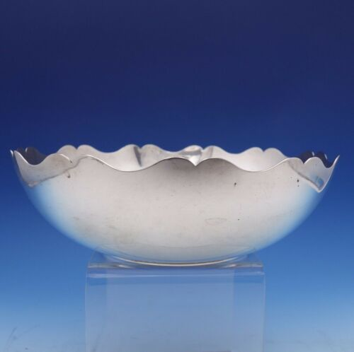 Cordis by Tiffany and Co Sterling Silver Fruit Bowl Scalloped Rim #25155 (#3147)