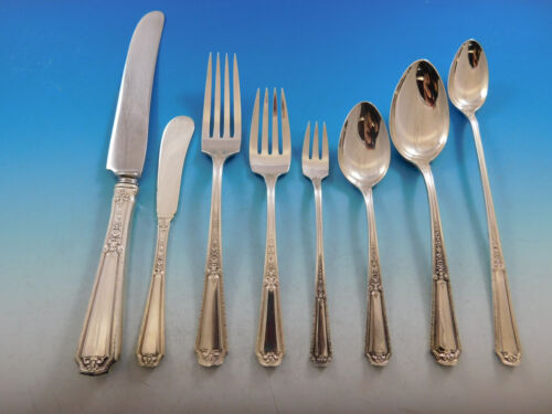 Louis XIV by Towle Sterling Silver Flatware Set for 12 Service 110 pieces