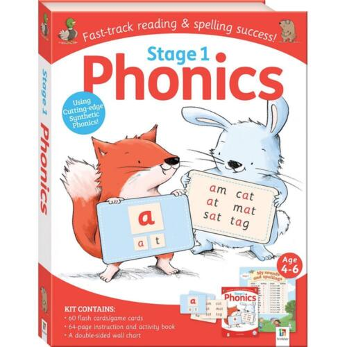 Phonics Kit: Stage 1 by Hinkler Books Hinkler Books Free Shipping!